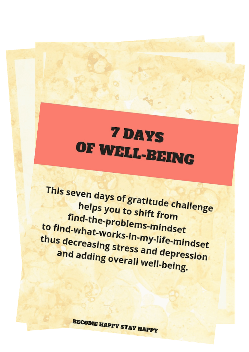 7 DAYS OF WELL-BEING